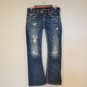 Silver Jeans Tuesday 28 by 31